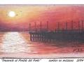 tramonto al pontile del forte