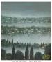Nebbia sulle colline toscane