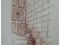 Vasi sugli scalini