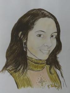 A mia figlia Denise