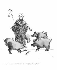 Sant'Antoni nun ha bisognu de porci